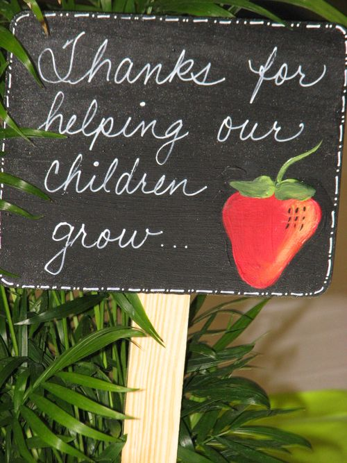 Childrengrowsign